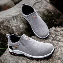 NIDENGBAO 2019 Walking Shoes For Men Comfortable Flat Shoe Male Wear-resistant Outdoor Safty Non-slip Sneakers Size 39-44