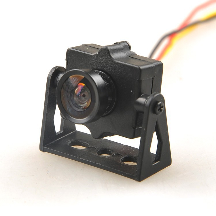 HMCAM700 FPV 520TVL HD Mini Camera with Camera Mount PAL / NTSC for QAV250 250 Quadcopter