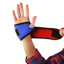 20pcs/lot Adjustable Hand Bracer Breathable Antiskidding Wristbands Man's Woman's Outdoor Sportting Self Protectors os721