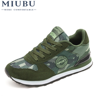 MIUBU Spring Mesh Men Camouflage Military Superstar Unisex Casual Shoes Breathable Flats Men Trainers Zapatillas Hombre