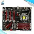 Para asus rampage iii fórmula original usado motherboard desktop para intel Soquete LGA 1366 Para i7 X58 DDR3 24G SATA3 USB3.0 ATX
