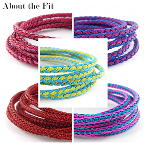 Image 4 - About the Fit 2/3mm 100M Braided Metal Wire Mesh Round Cords Jewelry Accessories Bands Woven Ropes Crafting Collar Making Lacing