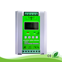 800W Wind 400W 500W 12V 24V Auto Solar Booster Type MPPT Hybrid Controller With Dump Load