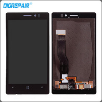 Black For Nokia Lumia 925 LCD Display Touch Screen With Digitizer Full Assembly Replacements Free Shipping