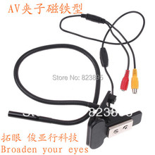 Broaden your eyes AV 5M COMS water-proof IP66 borescope Clip and magnet dual purpose diagnostic endoscope camera