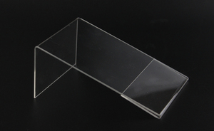 Image 5 - New 10pcs/lot High Quality Clear 6x9cm L Shape Acrylic Table Sign Price Tag Label Display Paper Promotion Card Holder Stand