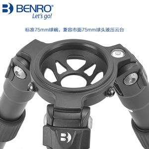 Image 3 - Benro Hi Hat HH75AV Auminium Video Treppiedi Professionale Fotocamera Treppiedi
