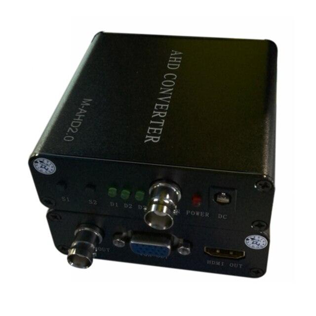 AHD to HDMI/VGA/CVBS HD video converter for high definition large screen LED digital LCD TV transmission data signal