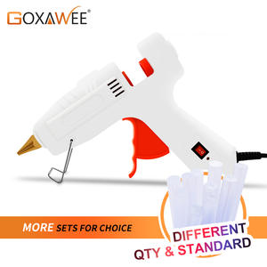 GOXAWEE Hot Melt Glue Gun Mini Professional High Temp Graft Repair Tool Electric Heat Gun DIY Thermo Tool With 10pcs Glue Sticks