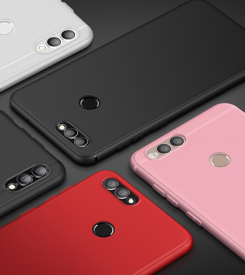 Luxury Sof Silicone Bumper Case for Huawei <font><b>P</b></font> <font><b>Smart</b></font> Cover on Huawei <font><b>P</b></font> <font><b>Smart</b></font> Slim Protect Thin Shell Coque Soft Tpu Cover <font><b>5.65</b></font>' image