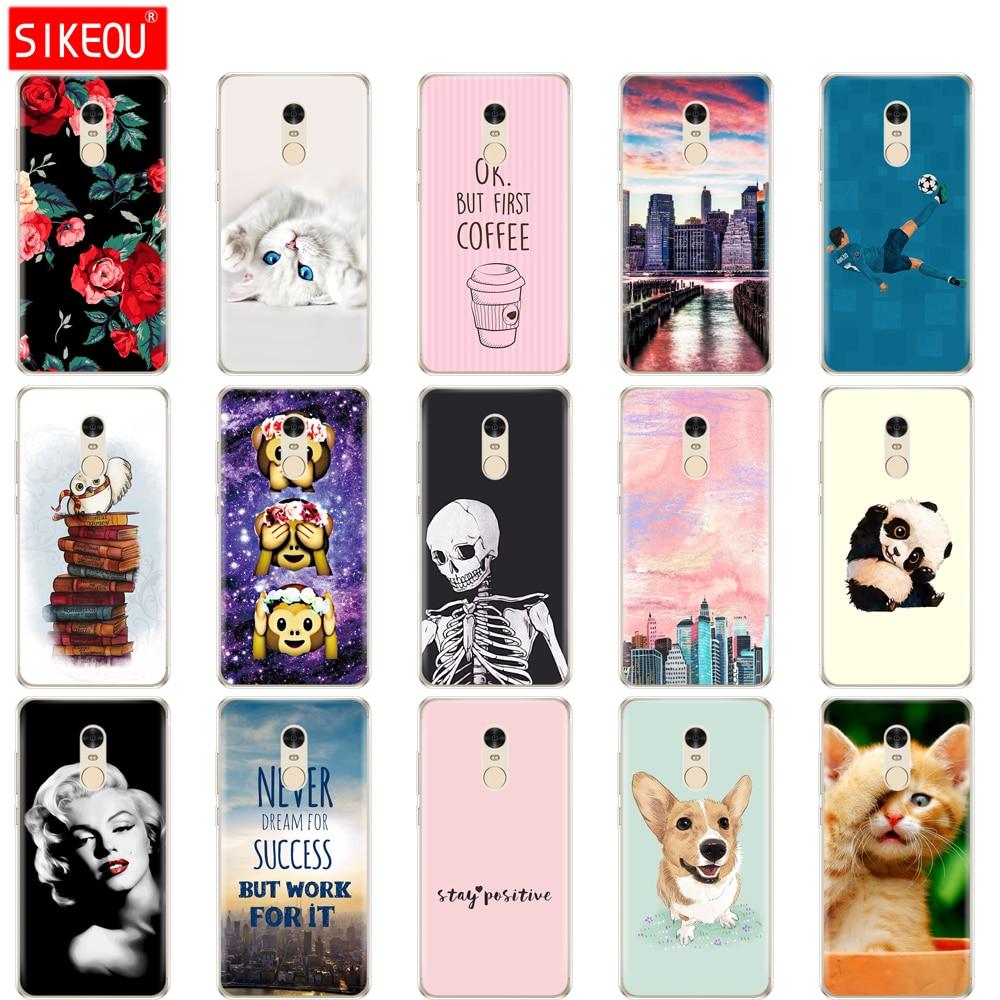 Silicone TPU Case For Xiaomi Redmi Note 4/note 4 pro Case Cover for Redmi Note 4X/note 4x pro Phone case global version funny