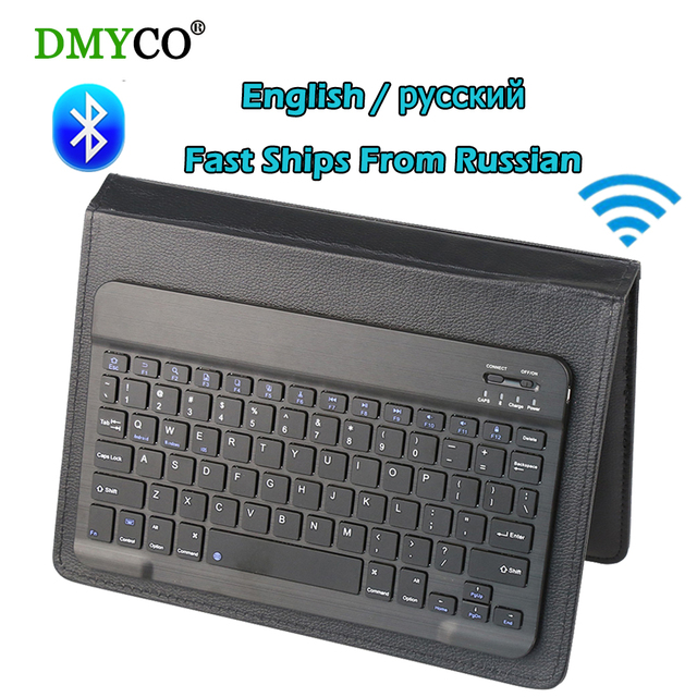 Russian Mini Wireless Ultra Slim Bluetooth Gaming Keyboard Multimedia portable Teclado Gamer Game Keyboards For Tablet Laptop PC