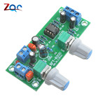DC 12V-24V Low-pass Filter NE5532 Subwoofer Process Pre-Amplifier Preamp Board Electric Circuit Integrated Circuits