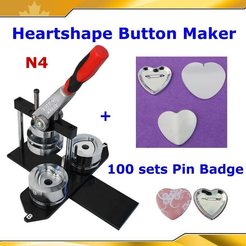 Badge button maker machine