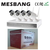 2017 Mesbang conjunto wi-fi nvr kits 960 P 4ch câmera de segurança sem fio bom para a pequena loja e escritório usar a entrega por DHL Fedex
