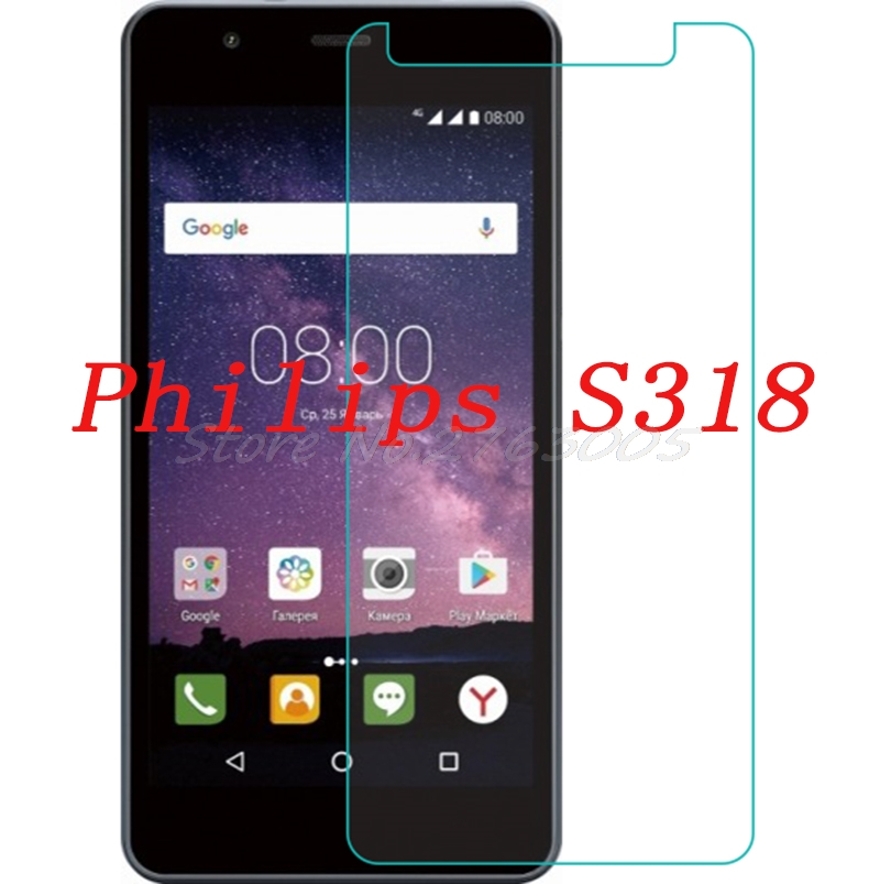 2PCS NEW Screen Protector phone For Philips S318 Tempered Glass SmartPhone Film Protective Cover2PCS NEW Screen Protector phone For Philips S318 Tempered Glass SmartPhone Film Protective Cover
