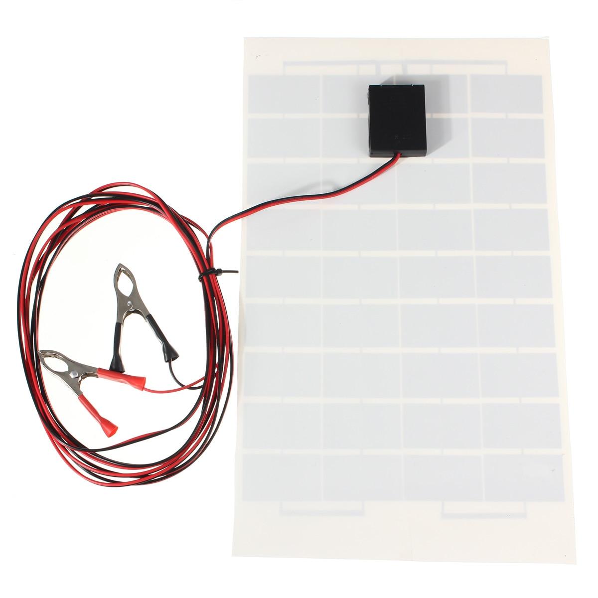 Baterias Solares 4 m de cabo Marca : Claite