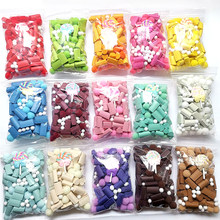 New Multicolor Sponge Slime Bead Chunks Addition Slime Supplies Accessories Filler Charms for Slime Foam Clay Mud for Kid Gift E(China)
