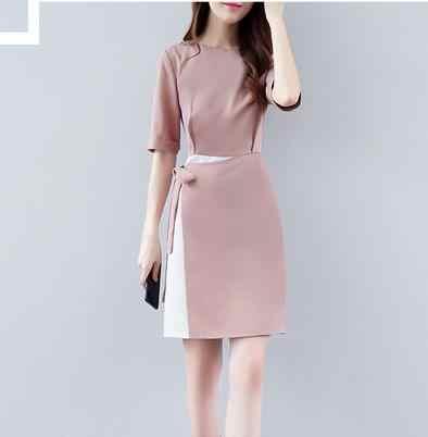 64b43073574 Clobee Лето 2019 г. пакет хип женское платье элегантный лук короткие женские  платья для женщин
