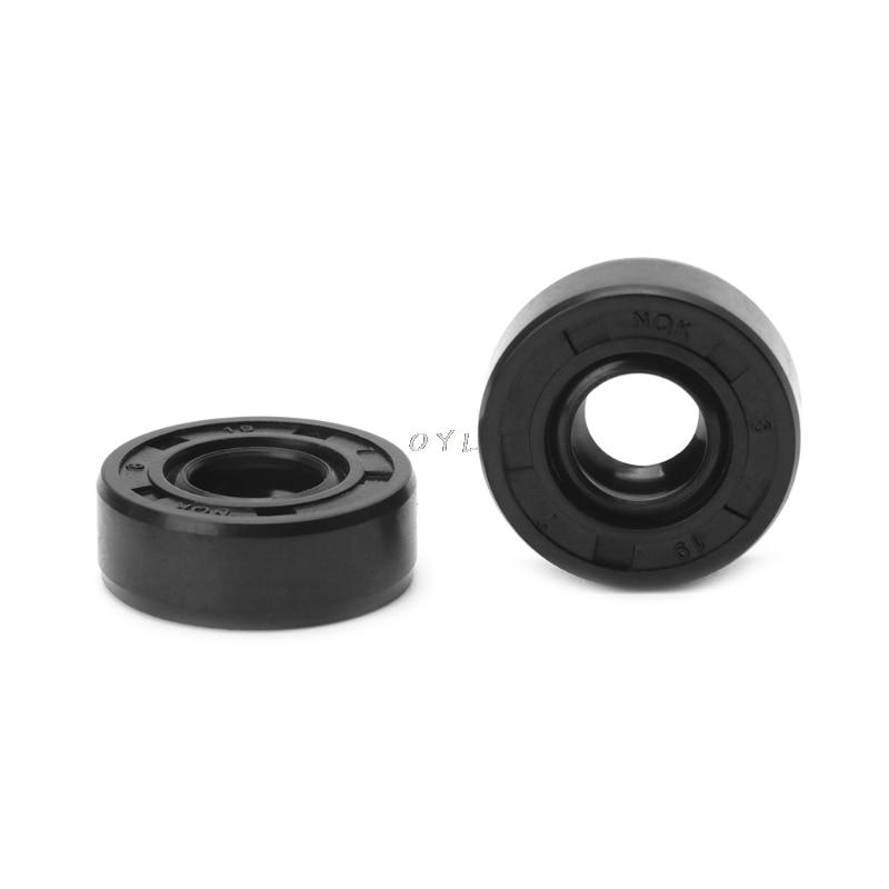 8x19x7mm Wearable Breadmaker Sorbet Machine Blender Repair Parts Oil Seal Ring Home Applicance Kitchen Helper 2pcs/set