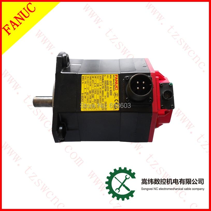 цена на FANUC motor servo motor alpha iF 4/4000 AC fanuc A06B-0223-B200