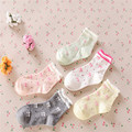 Girls Socks New 3pairs/lot 2016 Spring And Autumn Paragraph Children's Socks, Baby Small Little Bow Female Models A-cll-017-3