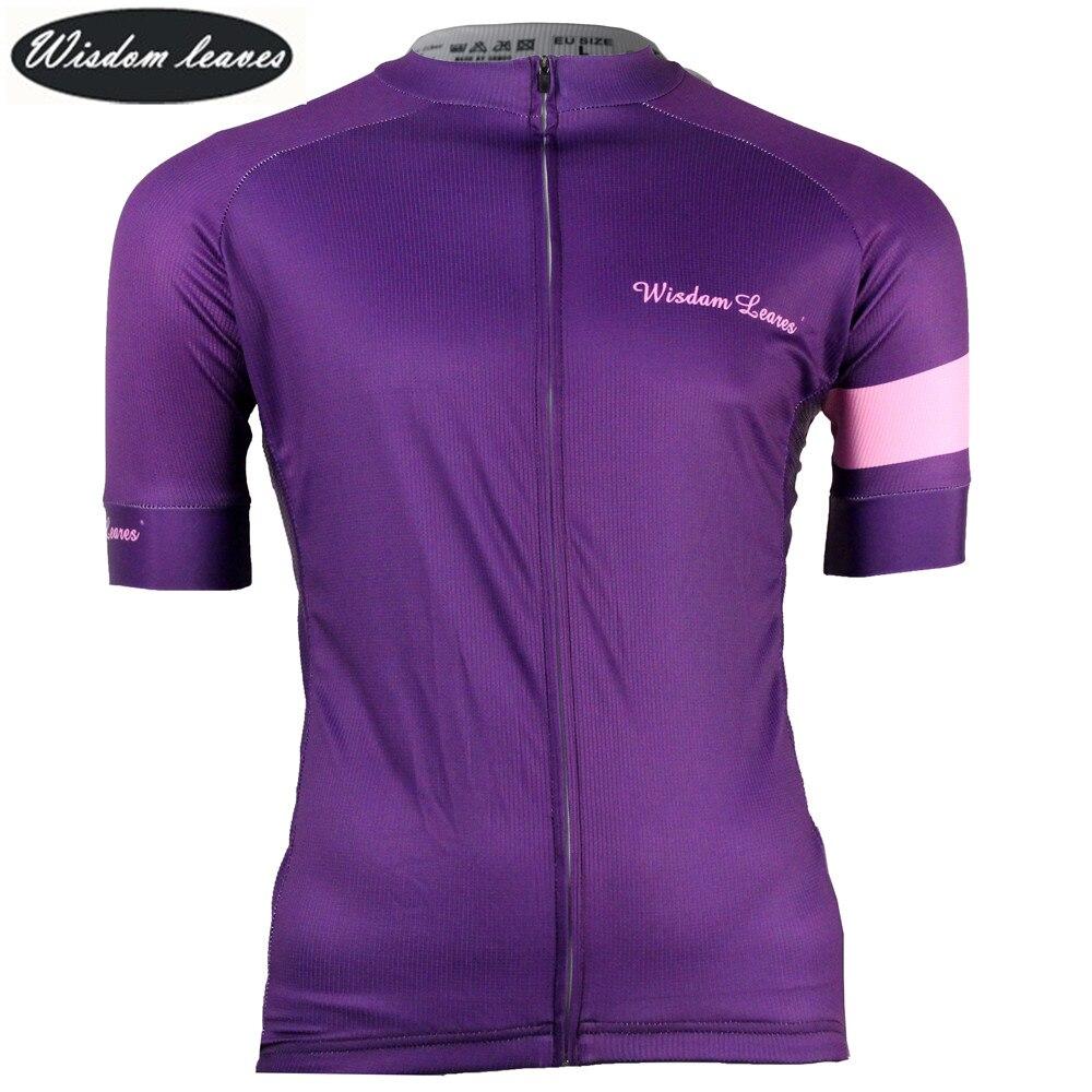 Wisdom Leaves 2017 Designer Brand Women cycling t shirt bike shirt maillot Men ciclismo equipos Team