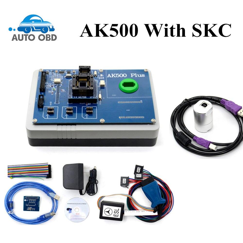 2017 Newest AK500+ AK500 Key Programmer for Mercedes Benz With EIS SKC Calculator AK500 Pro for Mercedes AK500 Key Programmer