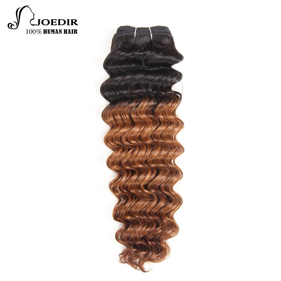 Joedir Deep Wave Bundles 1 Piece Only Brazilian Human Hair Weaving - Skönhet och hälsa - Foto 1