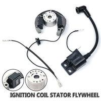 Flywheel 50cc Stator JR For Senior KTM50 KTM Junior Pro Ignition SX 50 Coil SR 1pcs Stator And 1pcs Ignition Coil