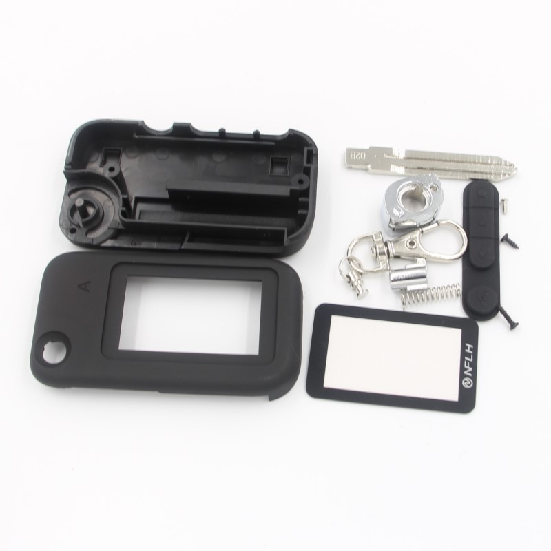 case for Starline A92 uncut blade fob case cover A92 folding car flip remote + A92 Glass цена