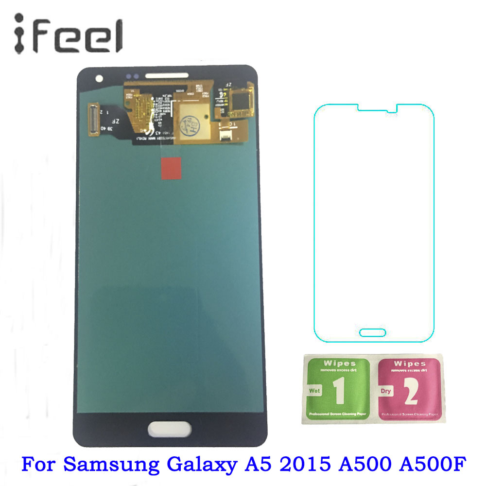 Super AMOLED LCDs For Samsung Galaxy A5 2015 A500 A500F A500FU A500H A500M Phone LCD Display Touch Screen DigitizerSuper AMOLED LCDs For Samsung Galaxy A5 2015 A500 A500F A500FU A500H A500M Phone LCD Display Touch Screen Digitizer