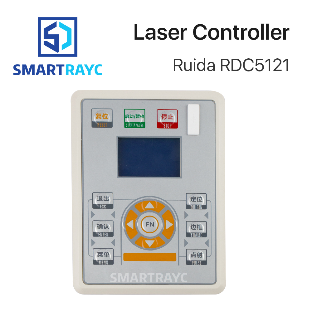 Smartrayc Ruida RD RDC5121 Lite Version Co2 Laser DSP Controller for Laser Engraving and Cutting Machine цена