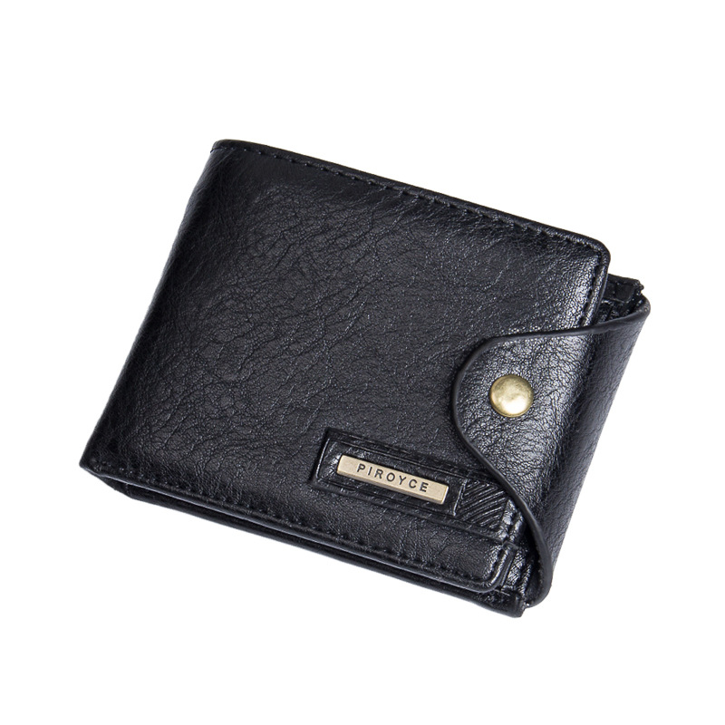 Men Wallets Genuine Leather Wallet Hasp Design Men Wallets With Coin Pocket Purse 2017 New Gift Card Holder For Men Carteira casual weaving design card holder handbag hasp wallet for women