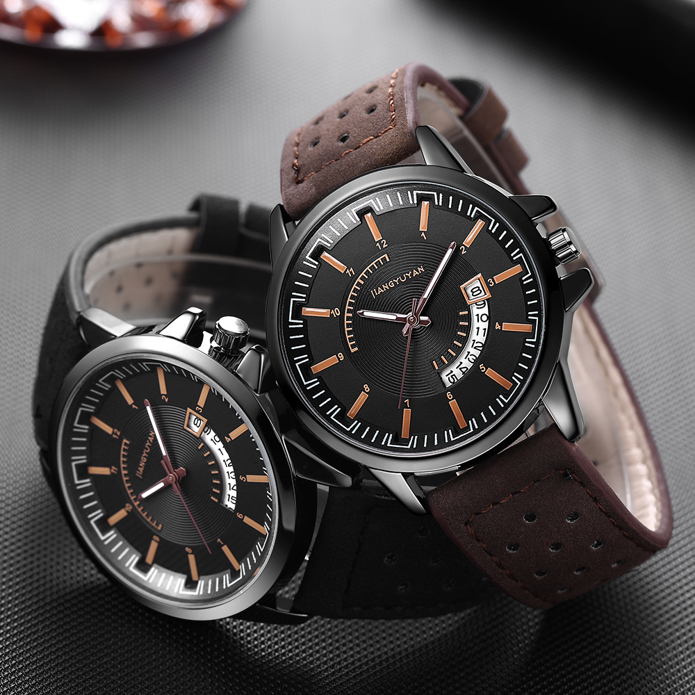Prevail Fashion Quartz Watch Men Watches Top Brand Luxury Male Clock Business Mens Wrist Watch clock Hodinky Relogio Masculino mens watches top brand luxury quartz watch doobo fashion casual business watch male wristwatches quartz watch relogio masculino