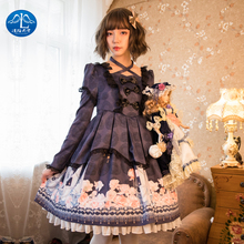 Halloween Lolita  Black Dress Gothic Dresses Sweet Princess Jsk Victorian