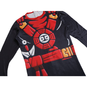 Image 2 - Ninjago Cosplay Costumes Kids Jumpsuits  Ninjago Skull Trooper Costumes Halloween Fancy Party Dress Up Ninja Superhero Suits Boy