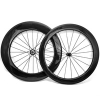 700c road carbon wheels front 50mm rear 88mm bicycle road wheelset powerway R36 bicycle clincher road bike wheels