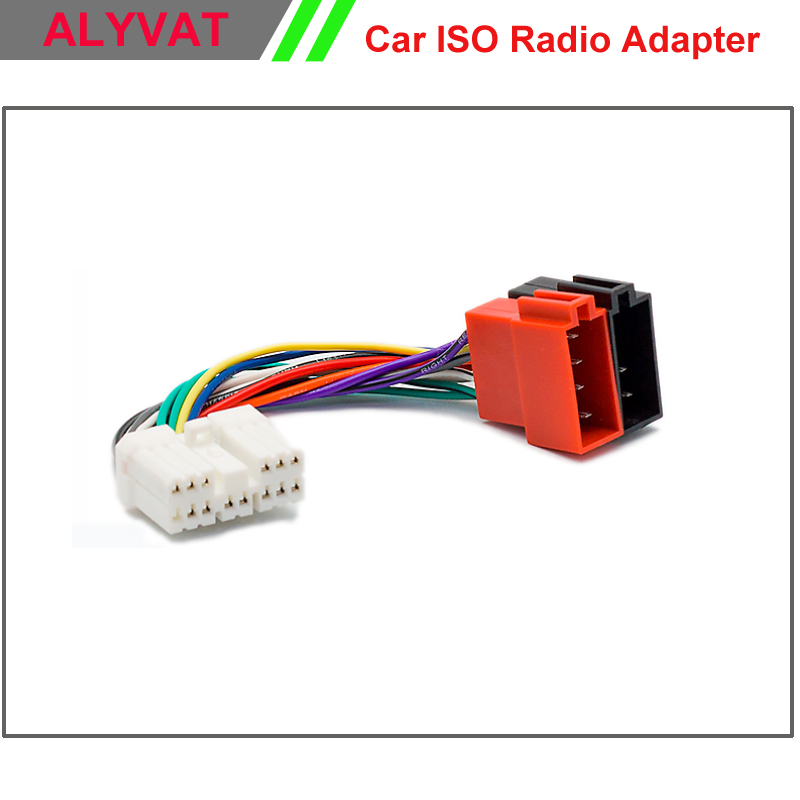 Car ISO Stereo Wiring Harness For Subaru Forester 1997 Impreza Vivio Legacy Outback Adapter Connector Auto 2009 subaru impreza transmission wiring harness opinions about