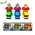 One piece Корейский Милые Мультфильмы гараж тайо маленький автобус модели мини tayo детские пластиковые oyuncak араба автомобиль для детей Рождественский подарок