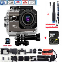 Action camera F68 F68R Ultra HD 4K 1080P WiFi 16MP 2 Inch Voice Alert 170 len Helmet Cam Extreme Sports camera