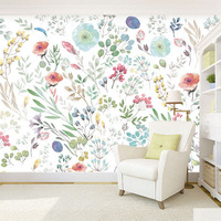 Custom 3D Print DIY Fabric Textile Wallcoverings For Walls Clothing Jacquard Linen For Living Room Murals
