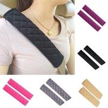 Universal Car Seat Belt Pads Shoulder Strap Covers Harness Pad for Cars Bag Soft