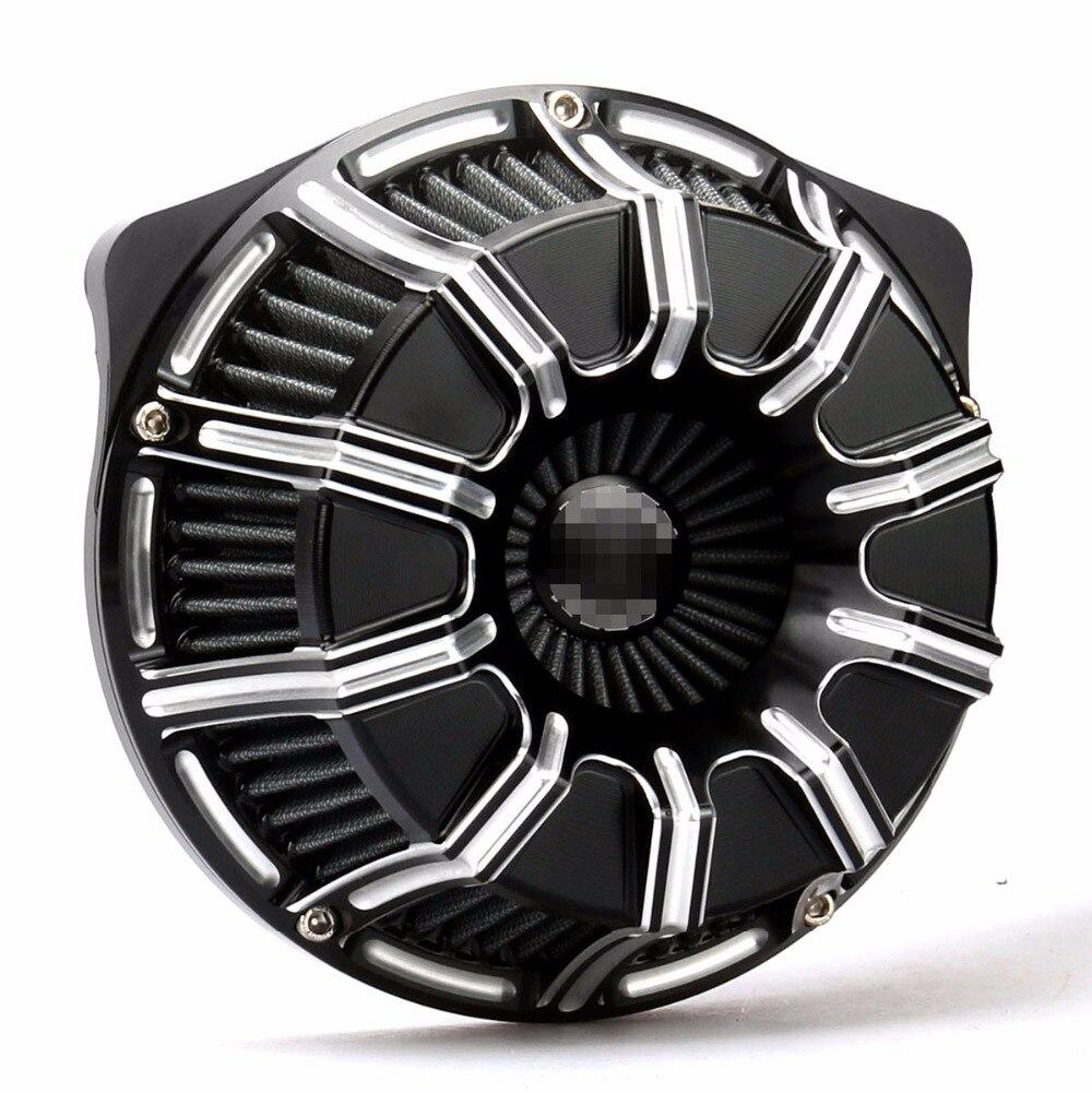 Road Glide filtro aria Artigianato 10-Gauge Filtro Aria Filtro di Aspirazione Per Harley Dyna Road King FLHR Volo A Vela touring street glide