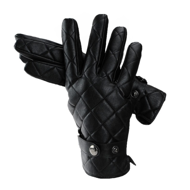 2013 new men's high-grade artificial leather gloves