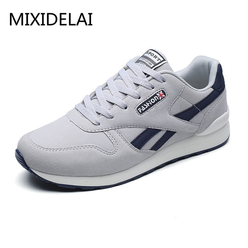 2018 Spring Autumn Men Sneaker Casual Shoes Breathable Mesh Boy Shoes Fashion Lace Up Flats Male Plus Size 39-44 DF1538 plus size 39 44 men spring shoes 2017 spring air mesh shoes men breathable casual shoes for men hombres zapatillas e62