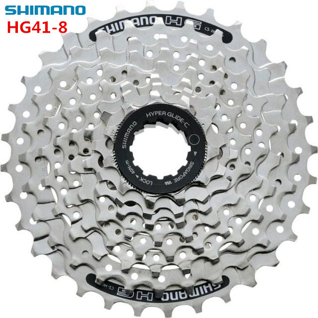 shimano HG41 8 speed MTB Mountain Bike Bicycle 8S Cassette Freewheel 8 Speeds Flywheel 11-30T 11-32 Crankset Bicycle Parts 312g