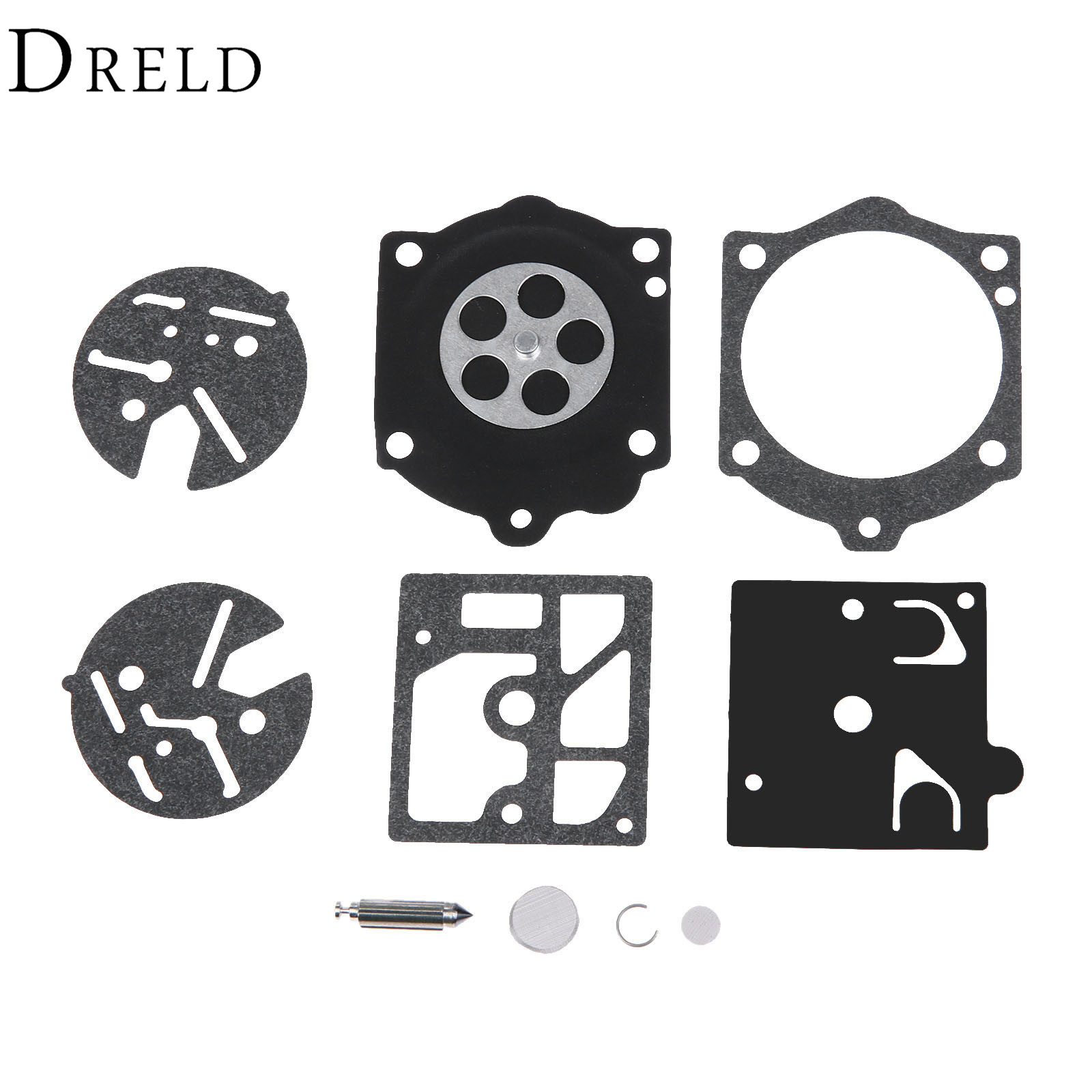 DRELD Carburetor Carb Repair Kit For Stihl 015 Homelite ST160 ST180 Chainsaw 44 240 S For Solo 600 605 606 616 631