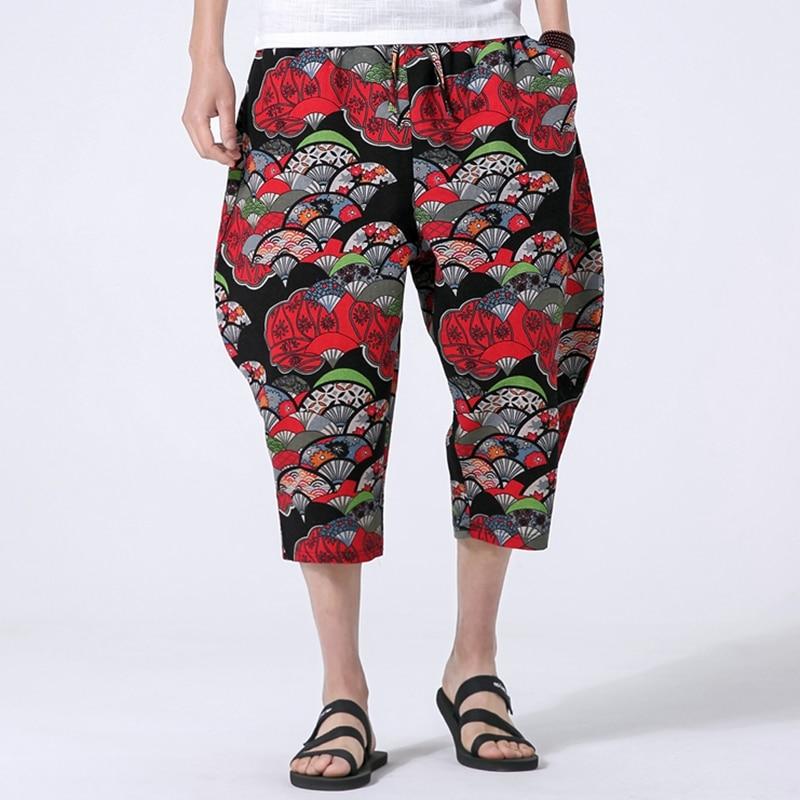 New Japan Style Comfortable Loose Male Kimono Harem Trouser Men Fashion Casual Pant