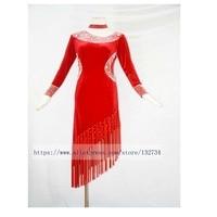 CHEAP PRICE High Quality Latin Dance Dress Tango Salsa Salsa Tango Rumba Cha Cha Latin
